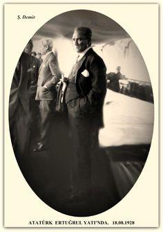 Atatürk Ertuğrul yatında İstanbul. 18.08.1928