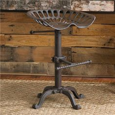 Adjustable Industrial Tractor Seat Stool