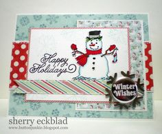 Merry Monday #39 - card sample