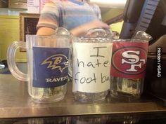 I hate football (this would be my mug!)