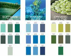 tendance de couleur pour interieur 2017- vert turquoise, bleu océan et vert clair