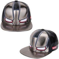 Mens Women Marvel Avengers Civil War WAR-Machine Mask Baseball Snapback Hats Cap #Marvel #BaseballHiphopHatCap