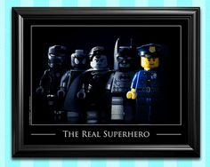 Police Gifts for Police Officers  Police Officer by SillyBrickPics