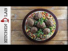 Γεμιστά μπιφτέκια και σαλάτα με κινόα Επ.29 | Kitchen Lab TV | Άκης Πετρετζίκης - YouTube