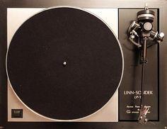 The iconic Linn Sondek LP12 turntable