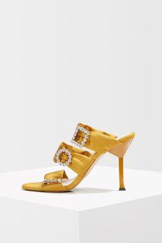 b78b12b02b1a Mustard 3 Buckle Sandals - Shoes