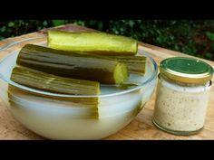 Kovászos uborka készítése kovász hozzáadásával. - YouTube Pickles, Cucumber, Pudding, Desserts, Food, Youtube, Meal, Custard Pudding, Deserts