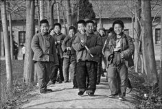 China in the 70s. Some people think this is how most Chinese people look like today.