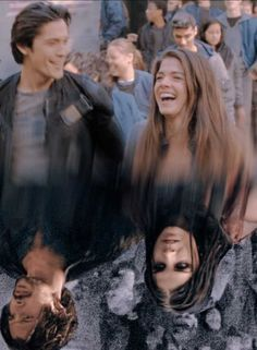 The innocence was ripped away from them The 100 Show, The 100 Cast, Bellamy The 100, The 100 Serie, Marie Avgeropoulos, Tv Times, Bellarke, We Meet Again, Great Movies