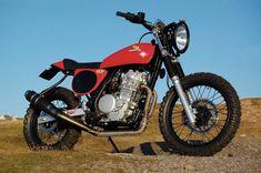 Honda NX650 StreetTracker - Pipeburn - Purveyors of Classic Motorcycles, Cafe Racers & Custom motorbikes