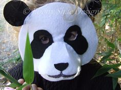 Looking for sewing project inspiration? Check out Panda Mask Pattern.  One Size Fits Most. by member Ebony Shae.