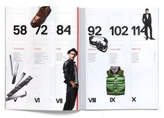 timeline--GQ style manual art direction by triboro design: