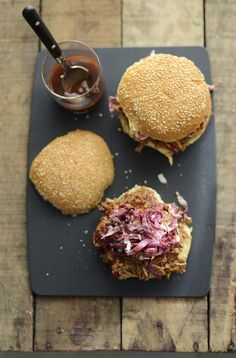 southern pulled pork sandwiches
