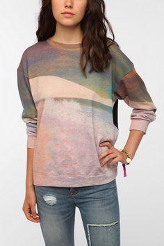 Family Landscape Sweatshirt Online Only Back in Stock