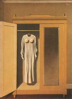 """René Magritte """"Homage to Mack Sennett"""""""
