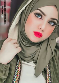 Beautiful Arab Women, Beautiful Hijab Girl, Middle Eastern Makeup, Beauté Blonde, Cute Selfie Ideas, Muslim Beauty, Innocent Girl, Stylish Dpz, Cute Girl Poses