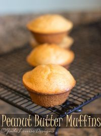 Enjoy the best mouthwatering combination of peanut butter in an easy lightweight Moist morning muffin with a hint of sweet. Perfect for a simple Breakfast or a treat to pack away for lunch on the go. This Delicious Peanut Butter Muffins Recipe is packed Peanut Butter Muffins, Best Peanut Butter, Peanut Butter Recipes, Peanut Butter Breakfast, Muffin Recipes, Baking Recipes, Dessert Recipes, Brunch Recipes, Fancy Recipes
