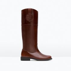 ZARA - KIDS - SOFT LEATHER BOOTS