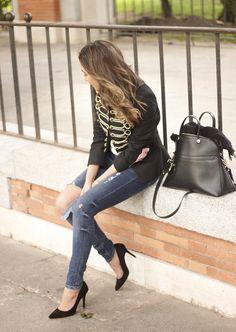 Military Jacket   BeSugarandSpice - Fashion Blog