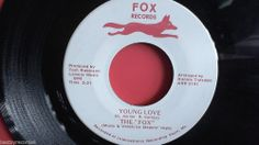 The Fox:  Young Love/Tell Me What I Say (Obscure Mississippi 45 RPM) Fox