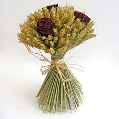 Shropshire Petals: Wheat Sheaf Bouquets & Decorations