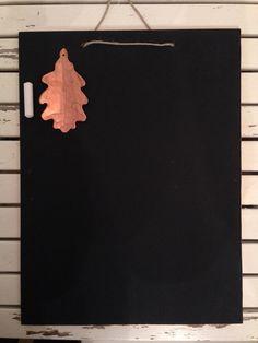 Handmade chalkboard with copper boarder. #chalk #chalkboard #board #home #todolist #copper #handmade
