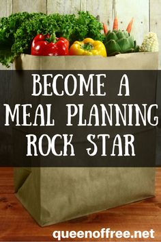 Quit wasting time, money, and food. Learn how to meal plan effectively and rock…