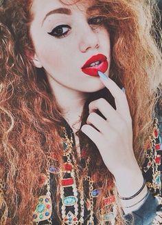 Mahogany LOX makeup