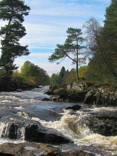 The Falls of Dochart - Killin, Scotland
