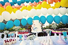 Whimsical Kites and Pinwheels for a Summer wedding #summer #wedding #ideas