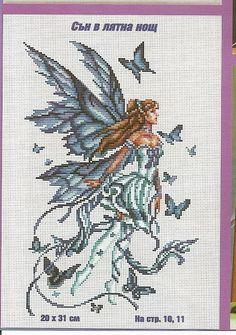 winter butterfly fairy
