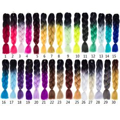 Ombre Kanekalon Braiding Hair 24 inch  Factory directly sell   Contact me :WhatsApp +86 1853996823