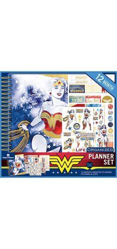 Wonder Woman™ Planner Set | Paper House