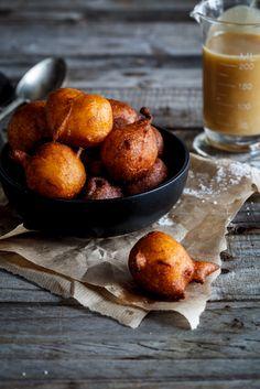 My gran's pumpkin fritters | Pampoen koekies by Alida Ryder - Simply Delicious #Dessert #Doughnuts #Vegetarian