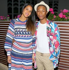 Pharrell and wife Helen Lasichanh welcome triplets. - Gemssblog