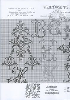 AMAP JD269 Heritage de Letters, чудесная вышивка!. Обсуждение на LiveInternet - Российский Сервис Онлайн-Дневников