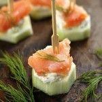 Smoked Salmon & Cream Cheese Cucumber | Jodeze Home and Garden