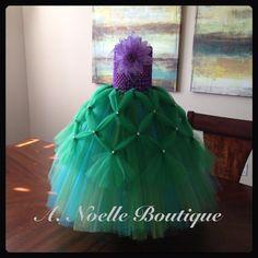 Disney's Princess Ariel costume by ANoelleBoutique on Etsy, $42.00