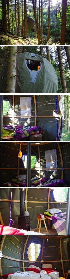 Awesome sphere tent… #gadgets for men, cool tech gadgets, tech gadgets gifts