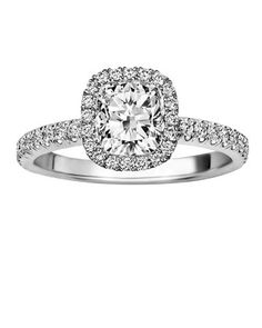 It was only a few years ago when cushion-cut diamonds were hard to find. Today, they're making a comeback with the popularity of antique or vintage-style jewelry, and engagement rings are no exception.