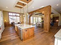 This is a Bel Arbor Builders Kitchen in a Hallsley home in Midlothian, VA.  Bel Arbor Builders, a Richmond luxury homebuilder, will be building the 2014 Richmond Symphony League Designer House. Can't wait to see how the Bel Arbor Builders'  kitchen will turn out in the Designer House!