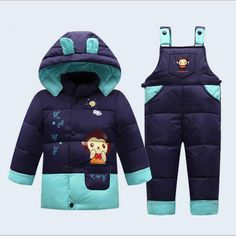 new baby winter down clothes little baby thicken outwear clothing baby sets for years kids pants children coat causal style - Kid Shop Global - Kids & Baby Shop Online - baby & kids clothing, toys for baby & kid Winter Outfits For Girls, Baby Boy Outfits, Kids Outfits, Little Babies, Baby Kids, Kids Girls, Baby Baby, Kids Snow Jacket, Baby Boy Suit