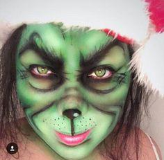 Christmas Holiday Makeup The Grinch