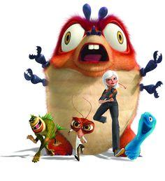 Monsters Vs. Aliens cast