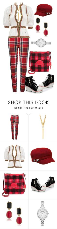 """""""Sporty & Trendy"""" by quirico ❤ liked on Polyvore featuring Vivienne Westwood Red Label, BERRICLE, Yves Saint Laurent, Betmar, Borsani, 1st & Gorgeous by Carolee and Kate Spade"""