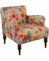 Upholstered Chair: Skyline Accent Chair - Garden Odyssey Fog