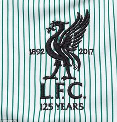 b61a3ba2396 Liverpool have a commemorative club crest to mark their 125th year as a football  club Liverpool