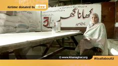 Khana Ghar was founded by Parveen Saeed in Karachi - Be a Part & Donate This Ramzan