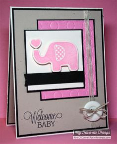 Beautiful Baby, Beautiful Baby Die-namics, Blueprints 2 Die-namics, Polka Dot Cover-Up Die-namics - Kim O'Connell #mftstamps