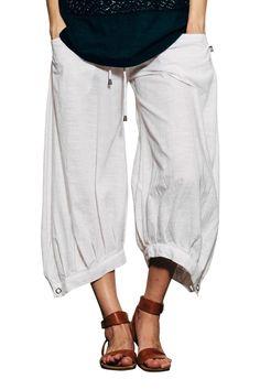 Boom Shankar dresses New Cotton Slub Guru Pants - Womens Pants at Birdsnest Women's Clothing Pants For Women, Clothes For Women, 50s Dresses, Women Wear, Ladies Wear, New Dress, Harem Pants, Meditation Clothing, My Style
